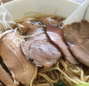 特製kiri_soba 醤油味 トッピング